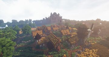 Norbury - Medieval Village - Fables and Fantasy Minecraft Map & Project