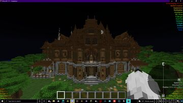 Hunted Mansion Minecraft Map & Project