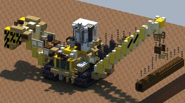 Liebherr RL66 Pipelaying dozer [With Download] Minecraft Map & Project