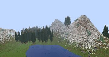 snowy valley Minecraft Map & Project