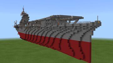 IJN Shōkaku 1:1 (Pearl harbor) Minecraft Map & Project