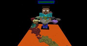 Herobrine Boss Fight 1.17.1 Minecraft Map & Project