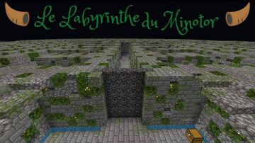 Le Labyrinthe du Minotor Minecraft Map & Project