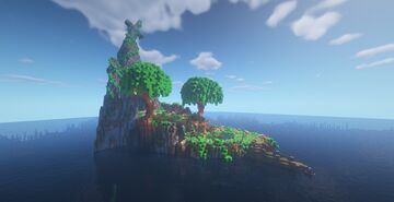 Water island Minecraft Map & Project