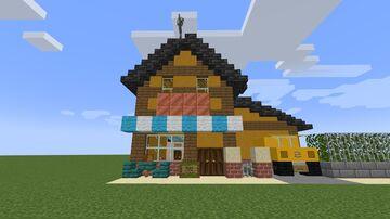 Casa do Valt Aoi/Valt aoi's house Minecraft Map & Project
