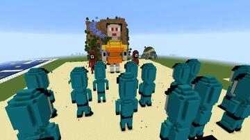 SQUID GAME in Minecraft Minecraft Map & Project