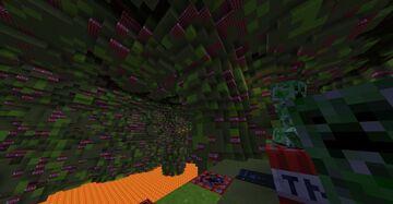 Nitroglycerin Tunnel Minecraft Map & Project
