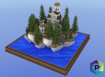 Rocky Temple Hub   1.8+ Minecraft Map & Project