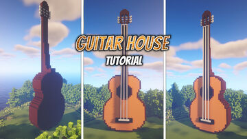 minecraft guitar house Minecraft Map & Project