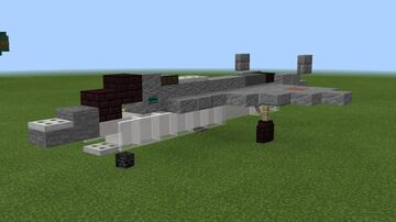 """1:1 scale Sukhoi LTS (otherwise known as the """"Checkmate"""" or Su-75) Minecraft Map & Project"""