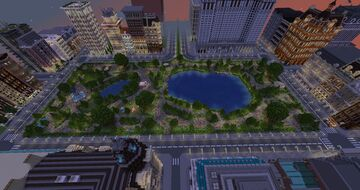 Central Park Project Minecraft Map & Project