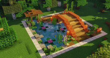 Japanese Bridge Minecraft Map & Project