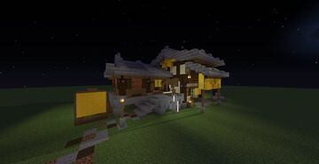 Japanese/Chinese forge Minecraft Map & Project
