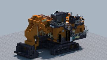 Hitachi EX8000-6 Loading Shovel [With Download] Minecraft Map & Project