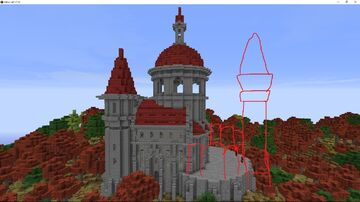Old buildings, Castles and houses [Unfinished buildings] Minecraft Map & Project