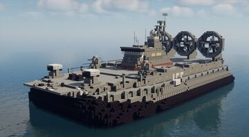 Zubr Class - 1.5:1 Scale Minecraft Map & Project
