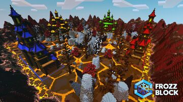 Inferno Bunker's Map Minecraft Map & Project