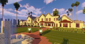 Mansion #3 (Map + Schematics) Minecraft Map & Project
