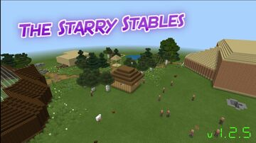 The Starry Stables Minecraft Map & Project