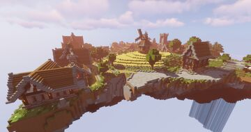 Massilia village in the sky Minecraft Map & Project
