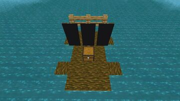 Skyblock on water Minecraft Map & Project