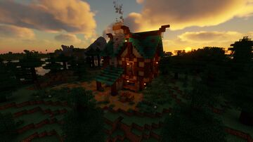 Blacksmith Shop and Home Minecraft Map & Project