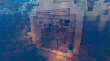 Underwater Modern House #1 Minecraft Map & Project