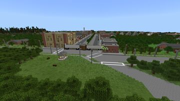 The Walking Dead - Woodbury [Download] Minecraft Map & Project
