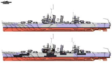 USS Honolulu & USS Nashville 1:1 Scale Brooklyn class Minecraft Map & Project