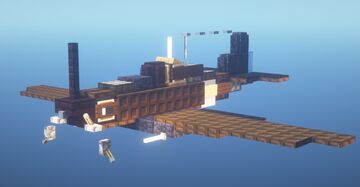 "Reggiane Re. 2001 ""Falco II"" CN (1.5:1 Scale) Minecraft Map & Project"