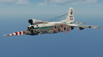 """Hercules W.2 """"Snoopy"""" - 1.5:1 Scale Minecraft Map & Project"""