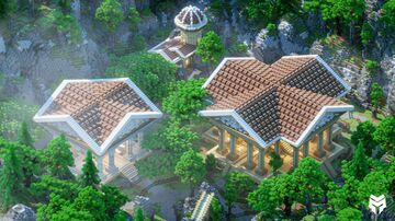 Greek themed Warzone Minecraft Map & Project