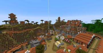 Barbarians Stronghold Minecraft Map & Project