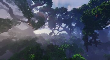 Mitrona - Wood Elven City - Fables and Fantasy Minecraft Map & Project