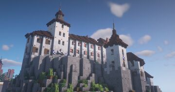 Castle Hoch-Katzenfels Minecraft Map & Project