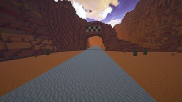 Camino Canyon Loop Minecraft Map & Project