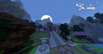 🌸 桜 Sakura Minecraft Map & Project