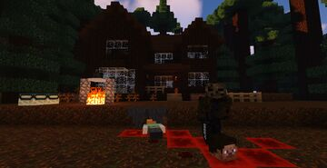 MINECRAFT HORROR STORY EP3 HORROR HOUSE Minecraft Map & Project