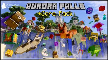 Aurora Falls + Core Pack Minecraft Map & Project