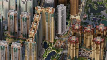 Minecraft Recreation of Hang Hau, Hong Kong (1:1)  香港將軍澳坑口1:1Minecraft重現 Minecraft Map & Project