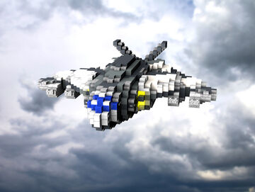 C.E.C. Heavy Dropship Minecraft Map & Project