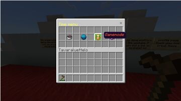 Redstone playground with chest UI control panel Minecraft Map & Project