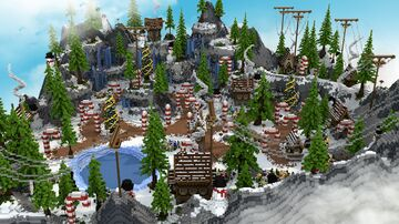 ❄️Winter KitPvP Map | [FREE DOWNLOAD]❄️ Minecraft Map & Project