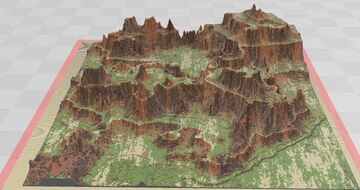 Western terra map Minecraft Map & Project