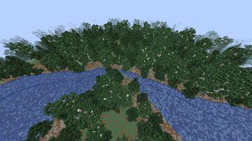 Finnish lake area Minecraft Map & Project