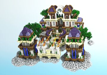 Royal Skyblock Spawn Minecraft Map & Project