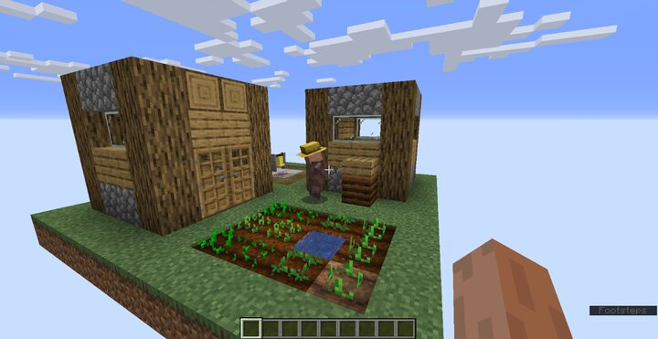 There are villages!!