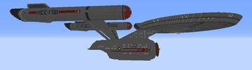Constitution class (Remake) - Project Starfleet 2263 Minecraft Map & Project