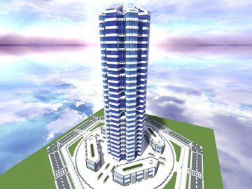 Quartz Tower #21 Minecraft Map & Project