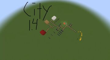 City 1.4 For Bedrock Minecraft Map & Project